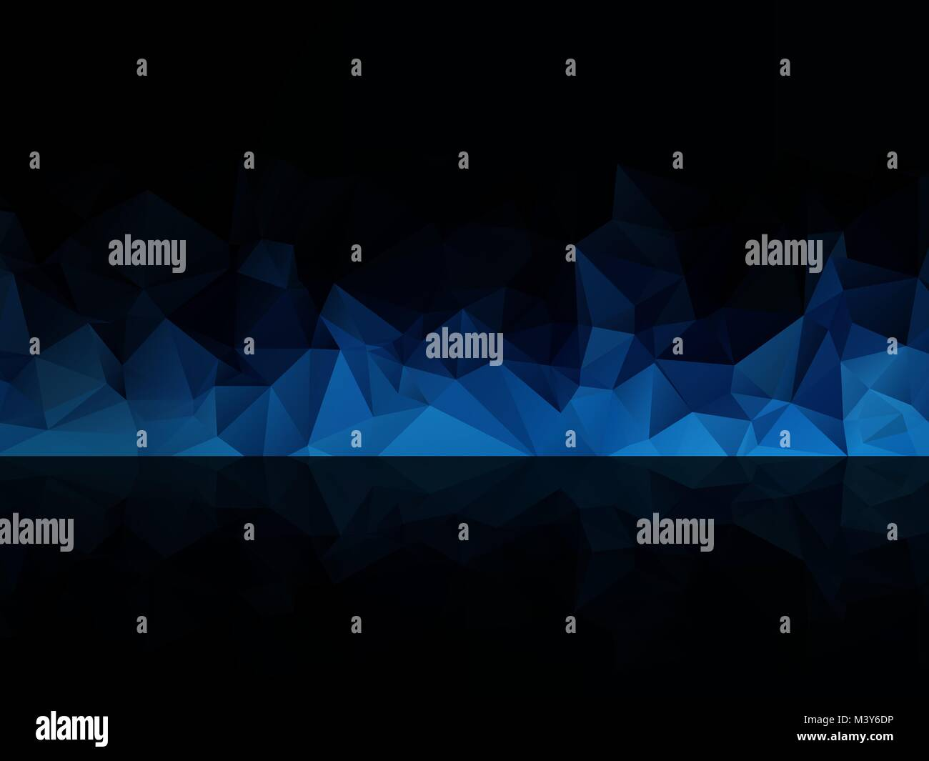 blue black abstract background - Stock Vector