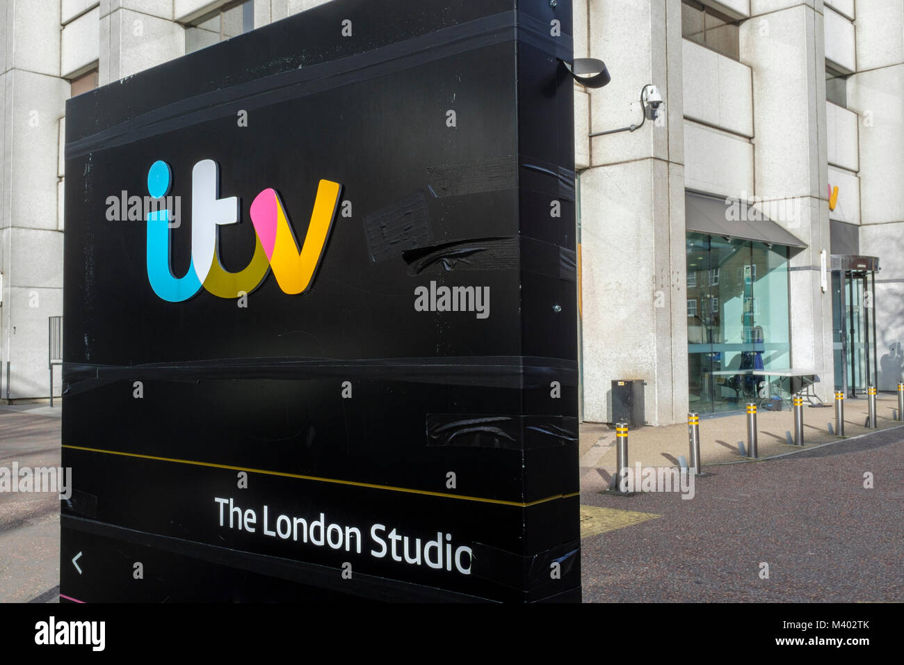 ITV television studios, Upper Ground, London - Stock Image
