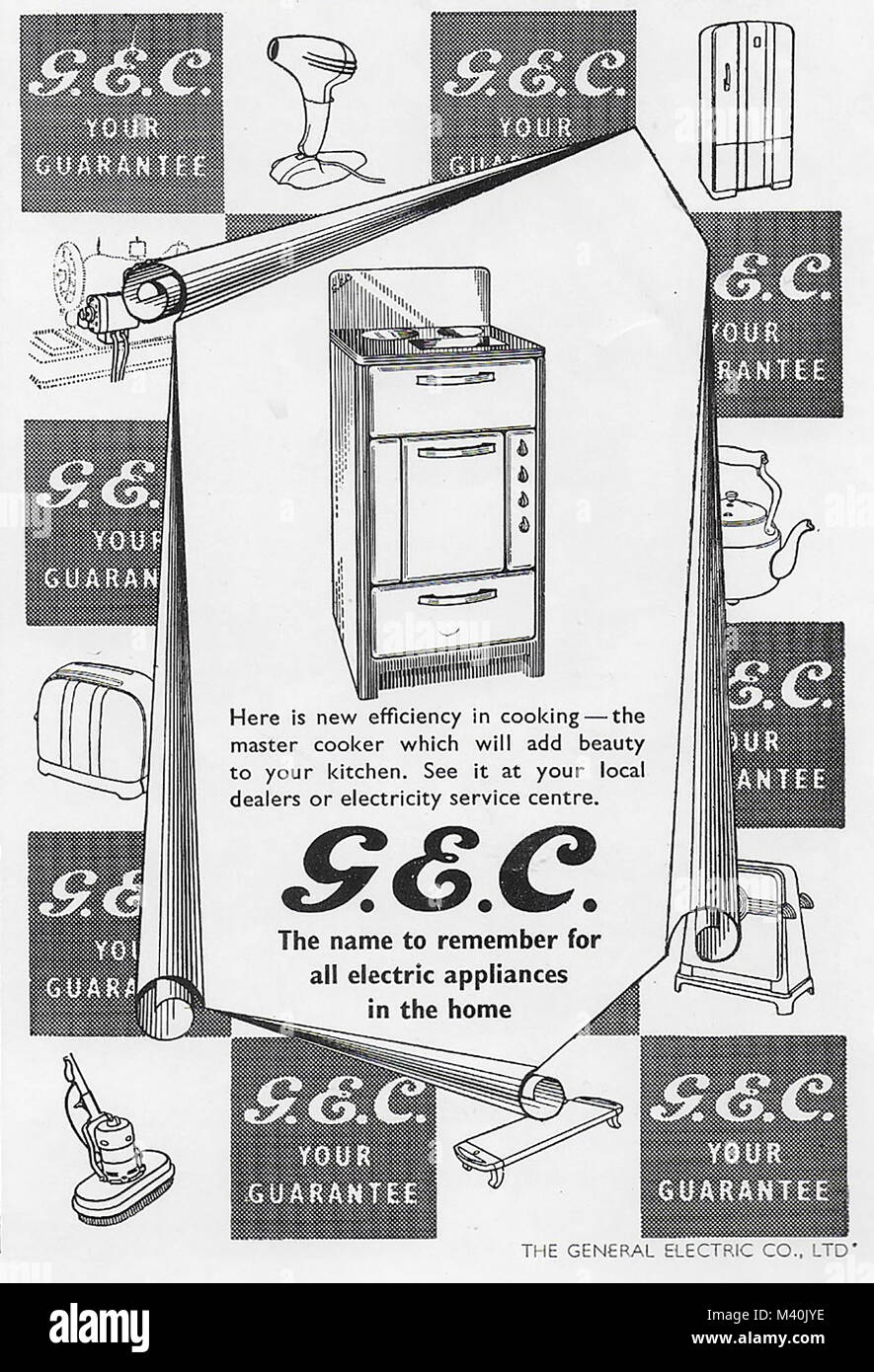 GEC General Electric Company advert, advertising in Country