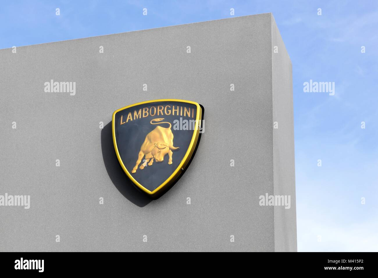 Lamborghini Emblem Stock Photos Lamborghini Emblem Stock Images