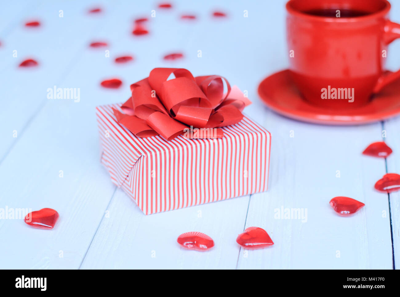 Red Cup And Saucer Stock Photos & Red Cup And Saucer Stock Images ...