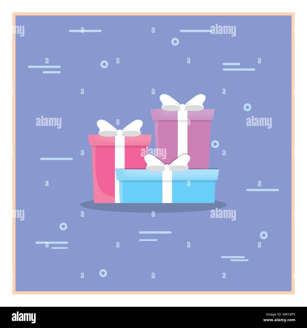 Happy birthday design - Stock Image