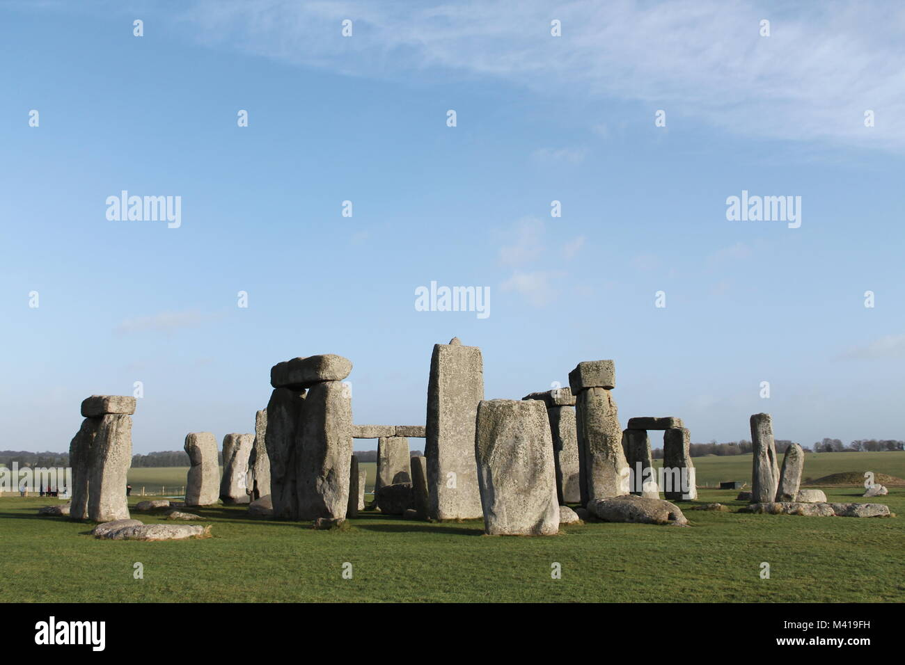 A picture of Stonehenge Stock Photo