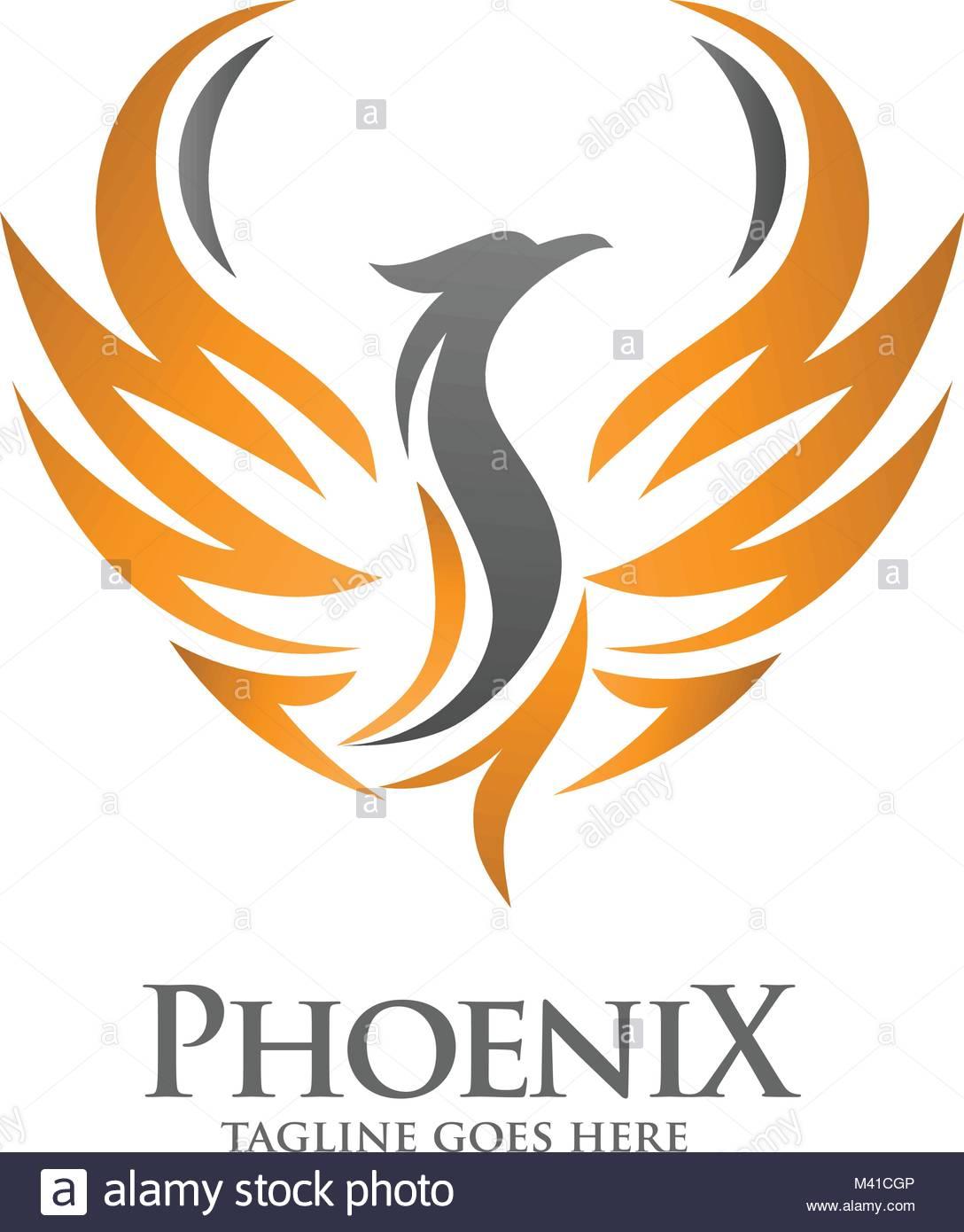 Astonishing Luxury Phoenix Logo Concept Best Phoenix Bird Logo Design Interior Design Ideas Inesswwsoteloinfo