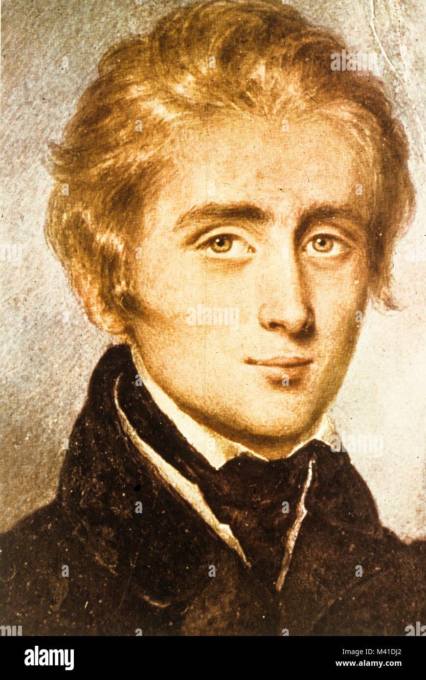 franz von liszt, 1834 Stock Photo