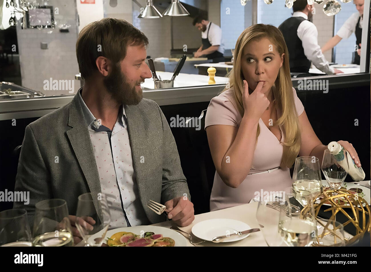 I FEEL PRETTY 2018 Voltage Pictures film with  Amy Schumer and Rory Scovel - Stock Image