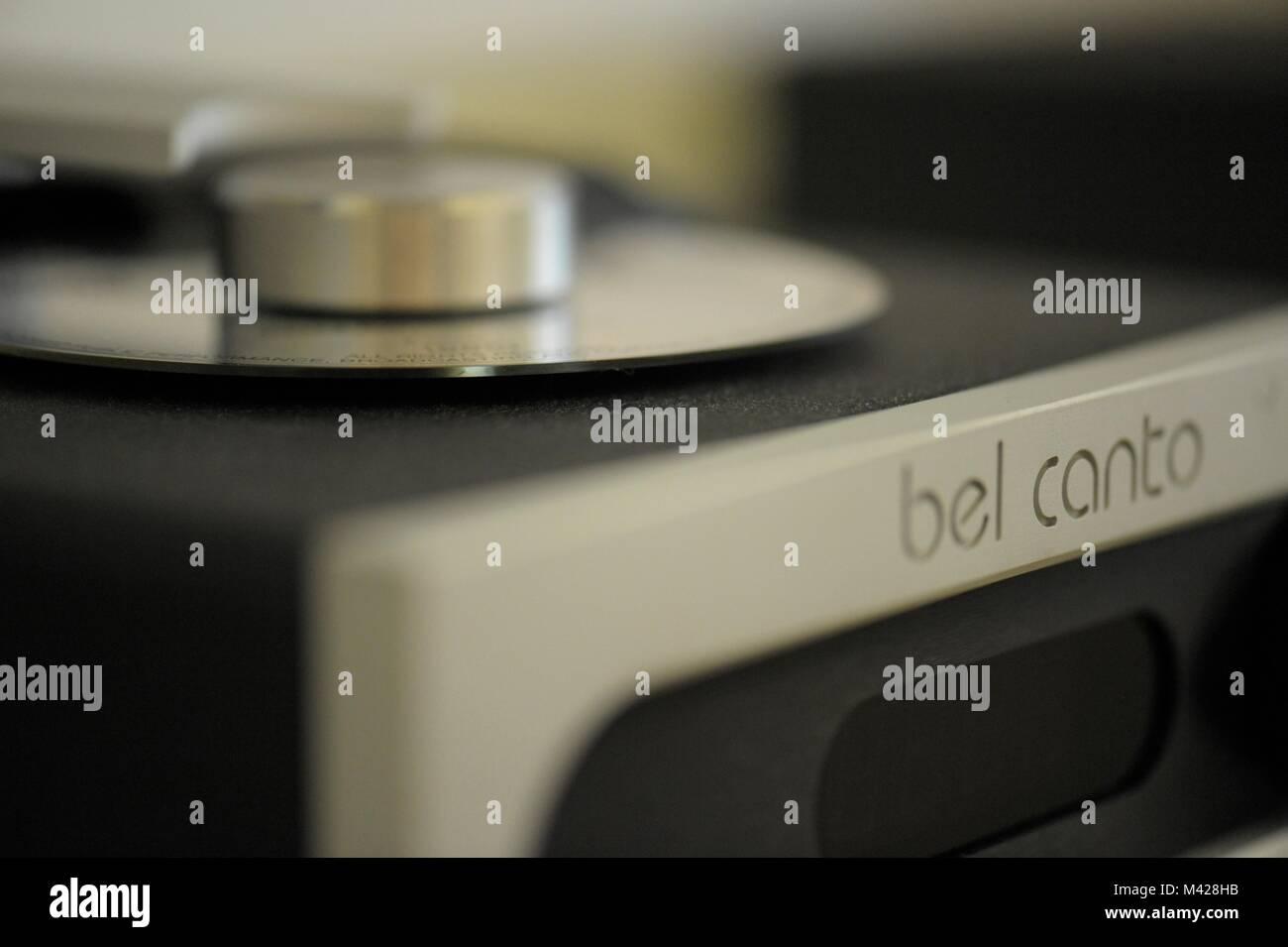 Stereo, high fidelity equipment - Stock Image