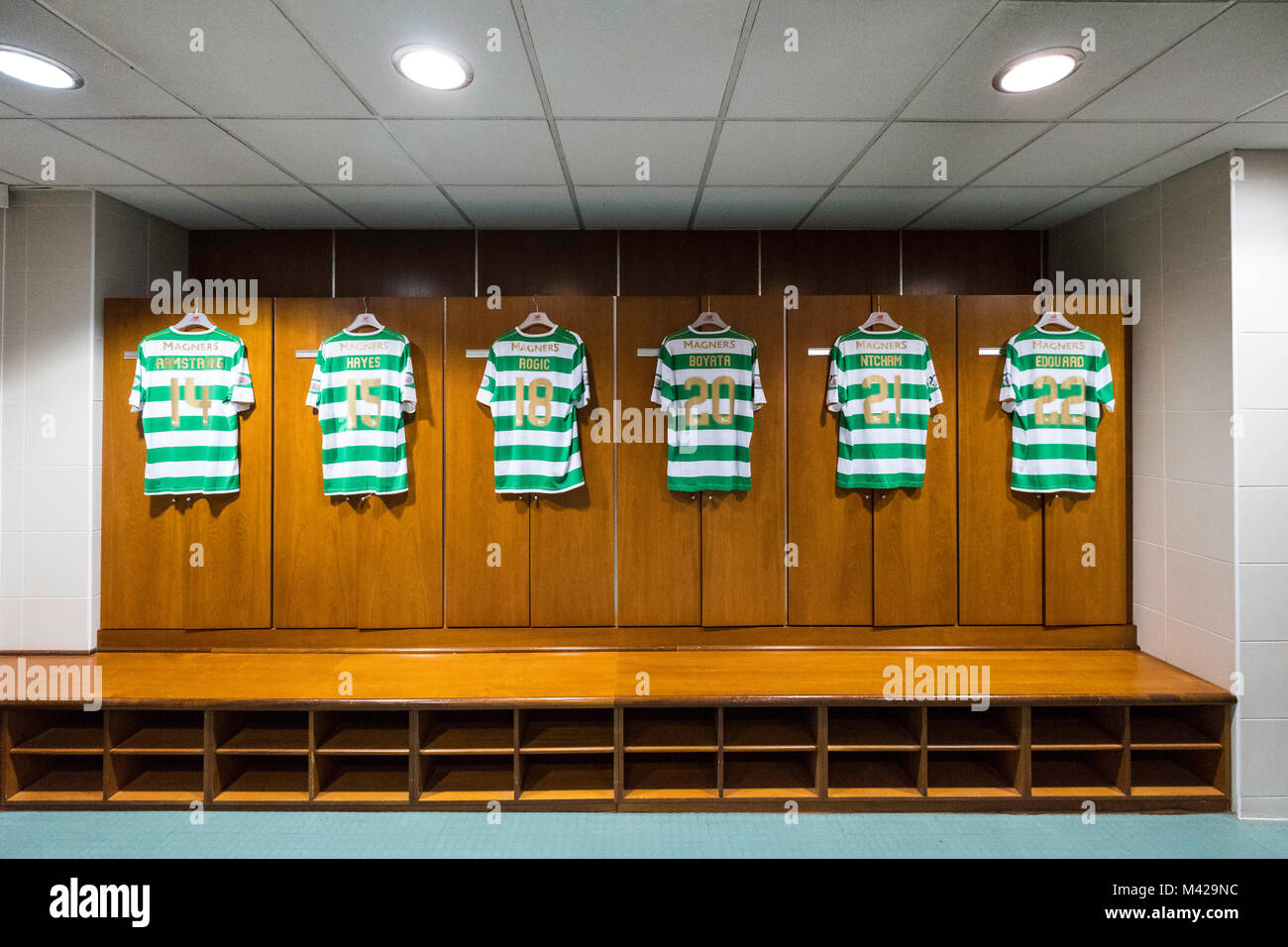 Images Of Celtic Park Changing Rooms