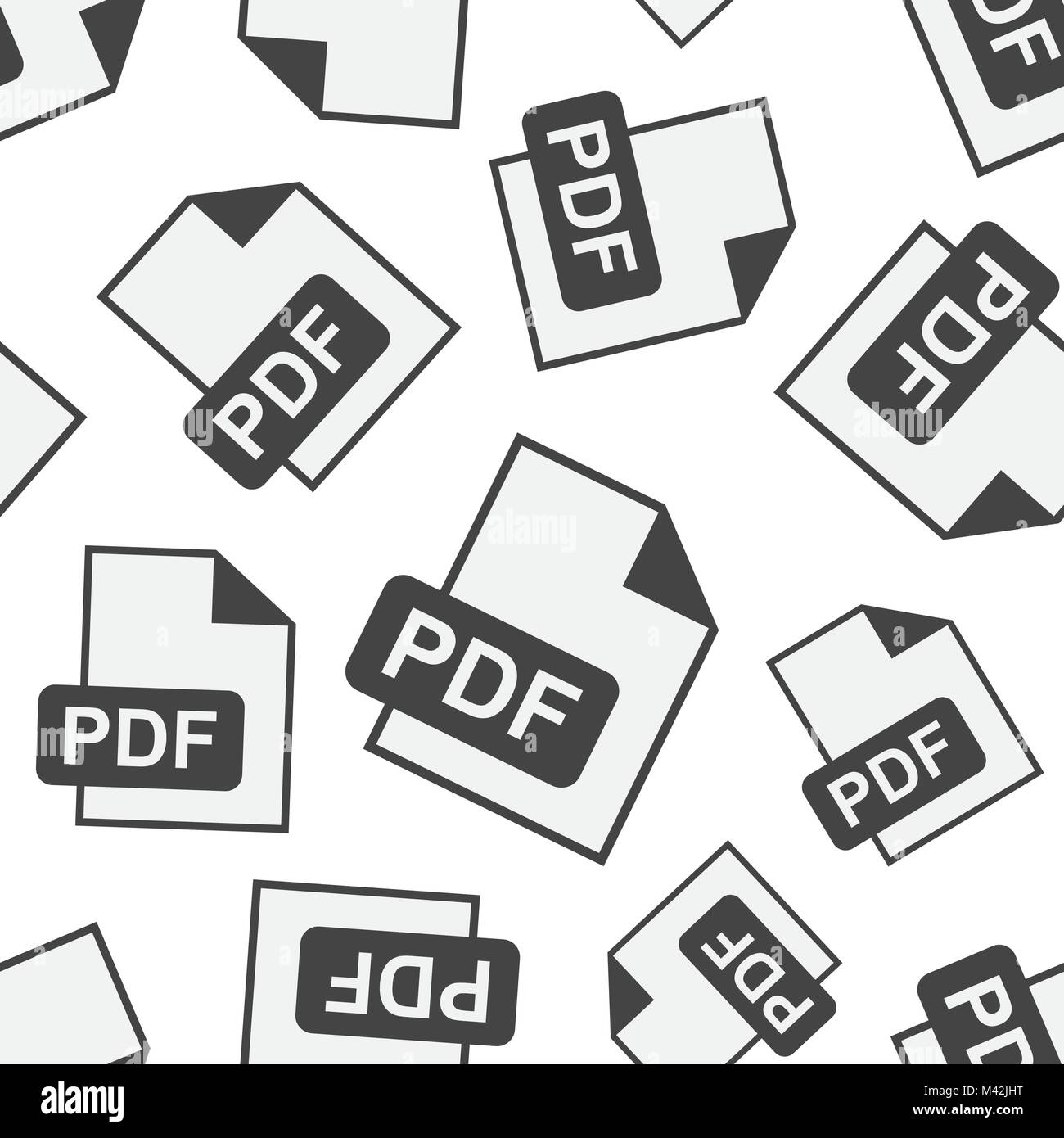PDF download seamless pattern background  Business flat vector Stock