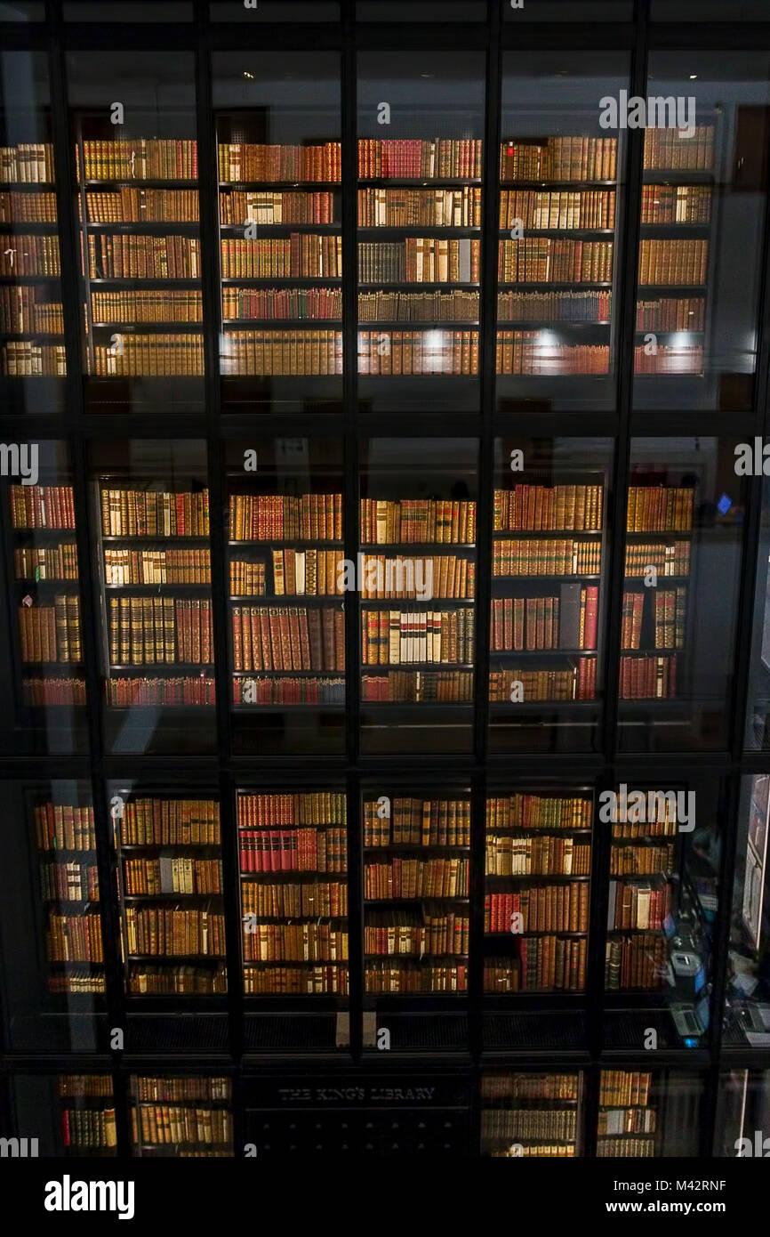 British Library London Interior Stock Photos Amp British