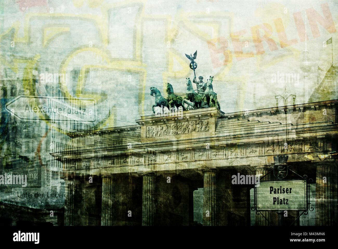 berlin 1.0 - Stock Image