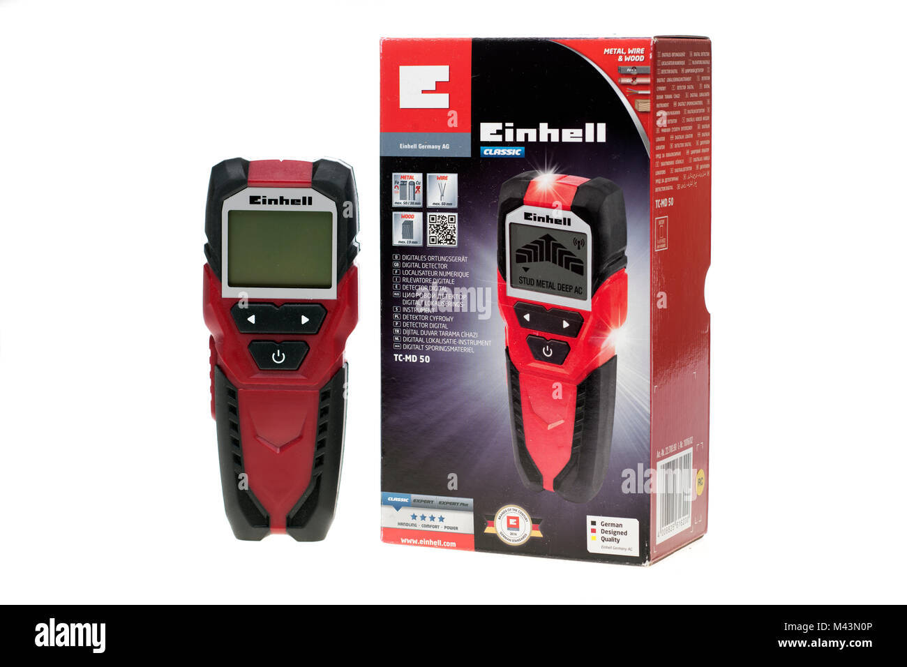 Einhell TC-MD 50 Digital Multi Detector for Walls - Stock Image