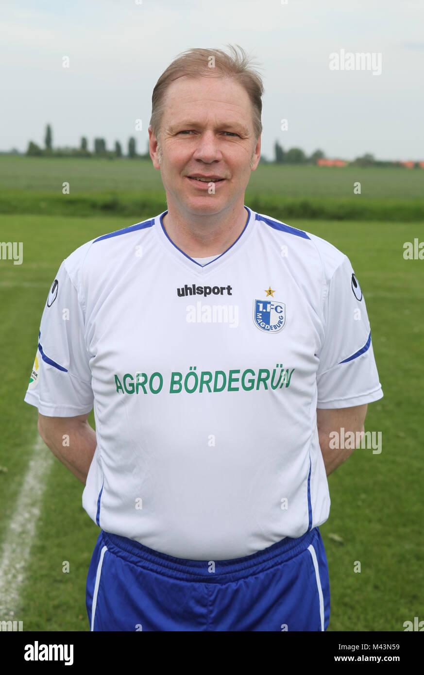 Detlef Schoeßler (1.FC Magdeburg,Dynamo Dresden and VfB Leipzig) - Stock Image