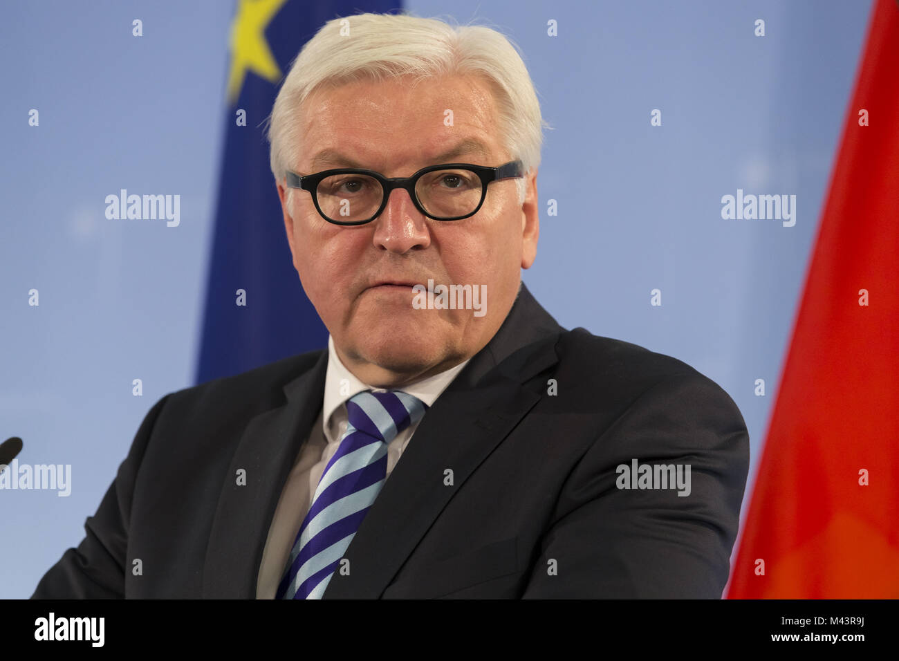 German Aussenminister meets the Foreign Minister of Nigeria - Stock Image
