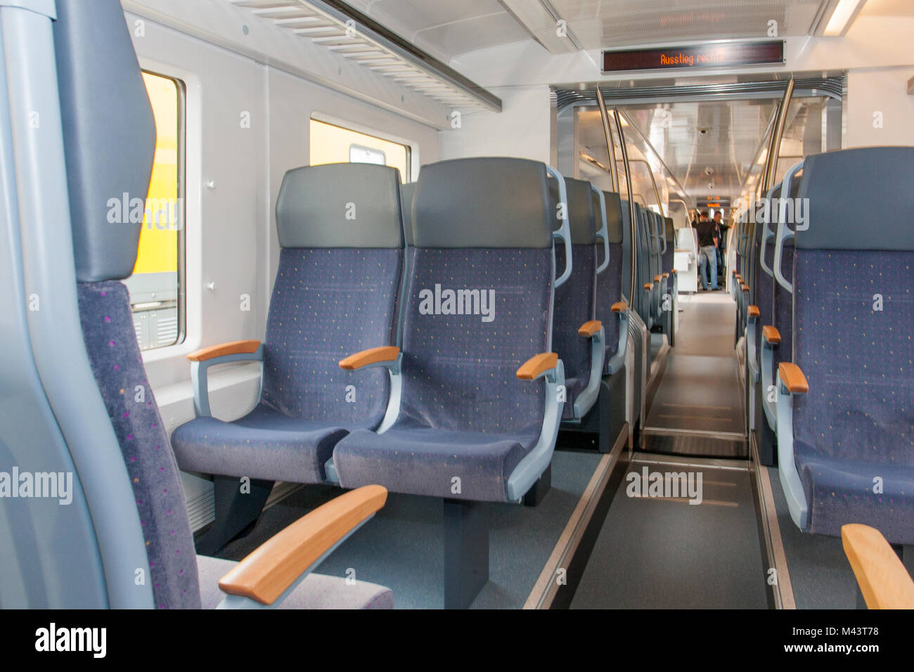 Coradia Continental Train for the ENNO-Network - Stock Image
