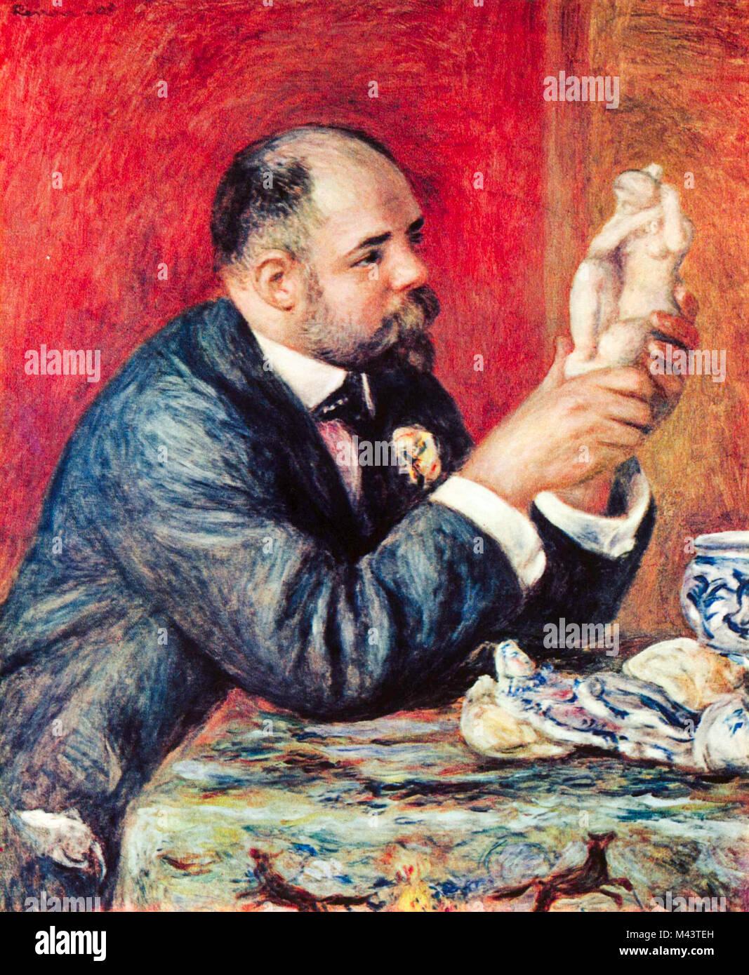 Portrait of Ambroise Vollard, 1908, Renoir - Stock Image