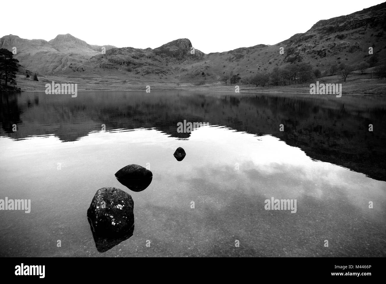 Lake district UK - Stock Image