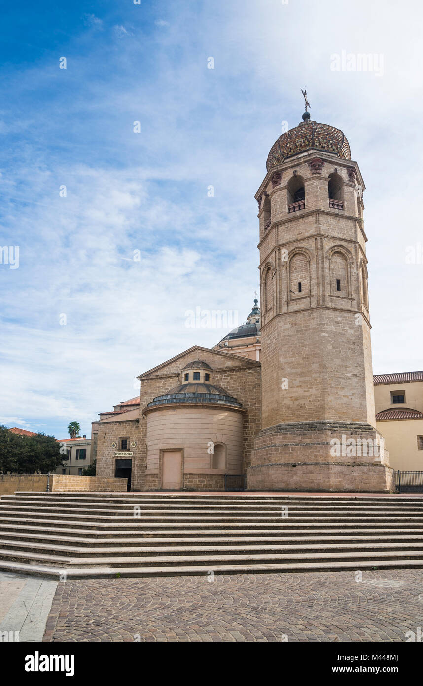 Cathedral of Oristano,Sardinia,Italy - Stock Image