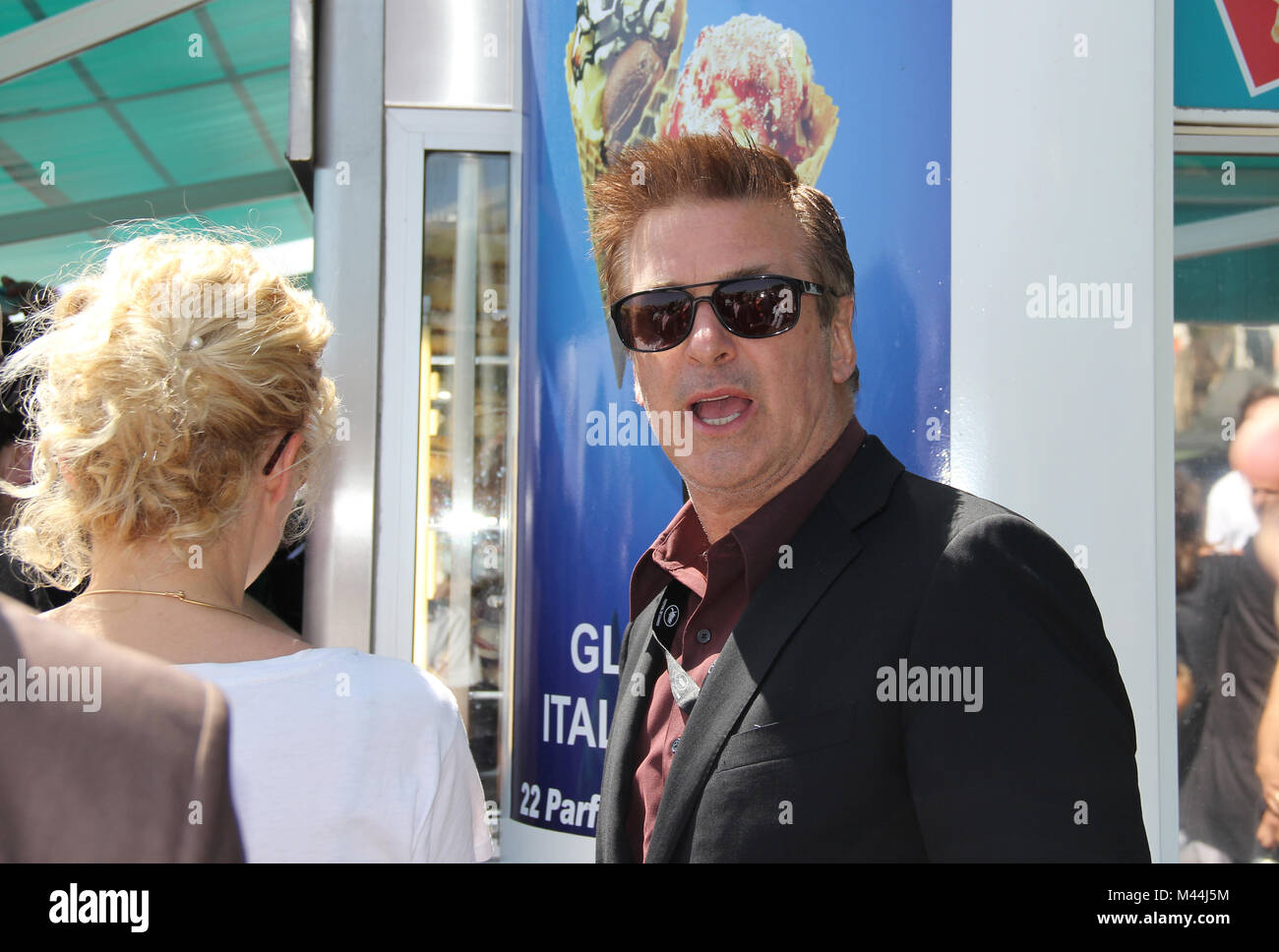 Alec Baldwin at the Croisette 65th Cannes Festival - Stock Image