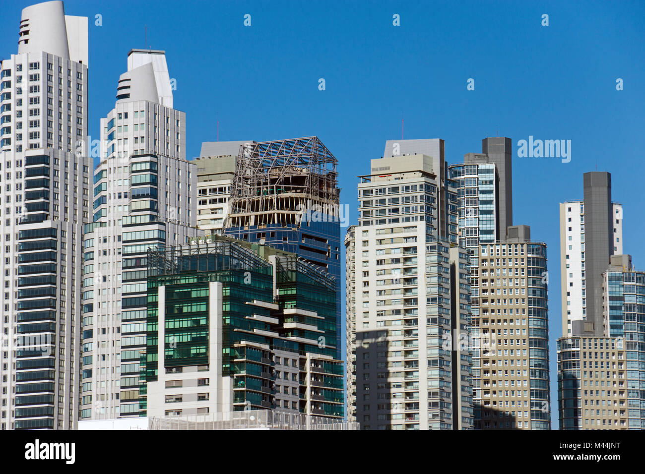 New skyscrapers in Puerto Madero, Buenos Aires, Ar Stock Photo