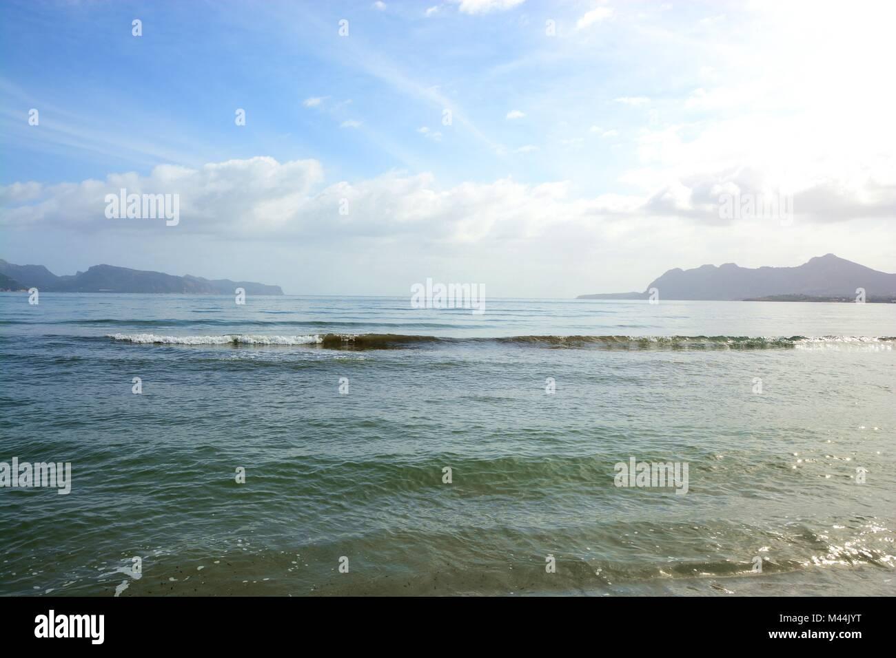 mediterranian sea - Stock Image