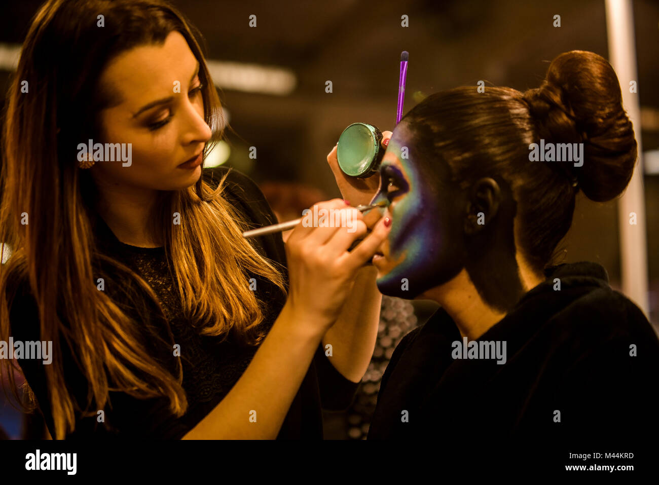 Cosmo Beauty 2018, most important fair of Hairdressing and cosmetics in Spain - Stock Image