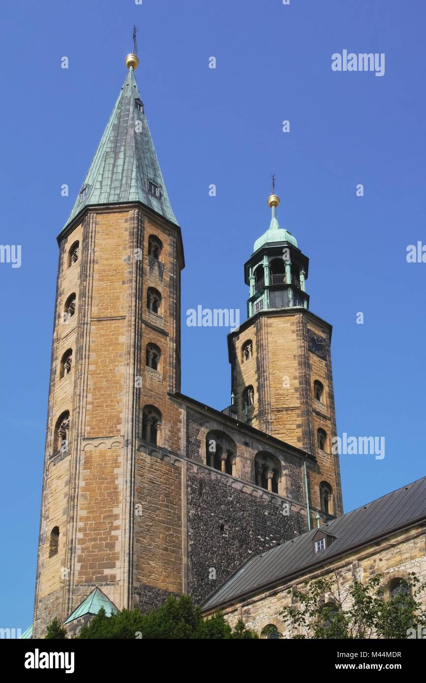 Goslar - Market Church St. Cosmas und Damian - Stock Image