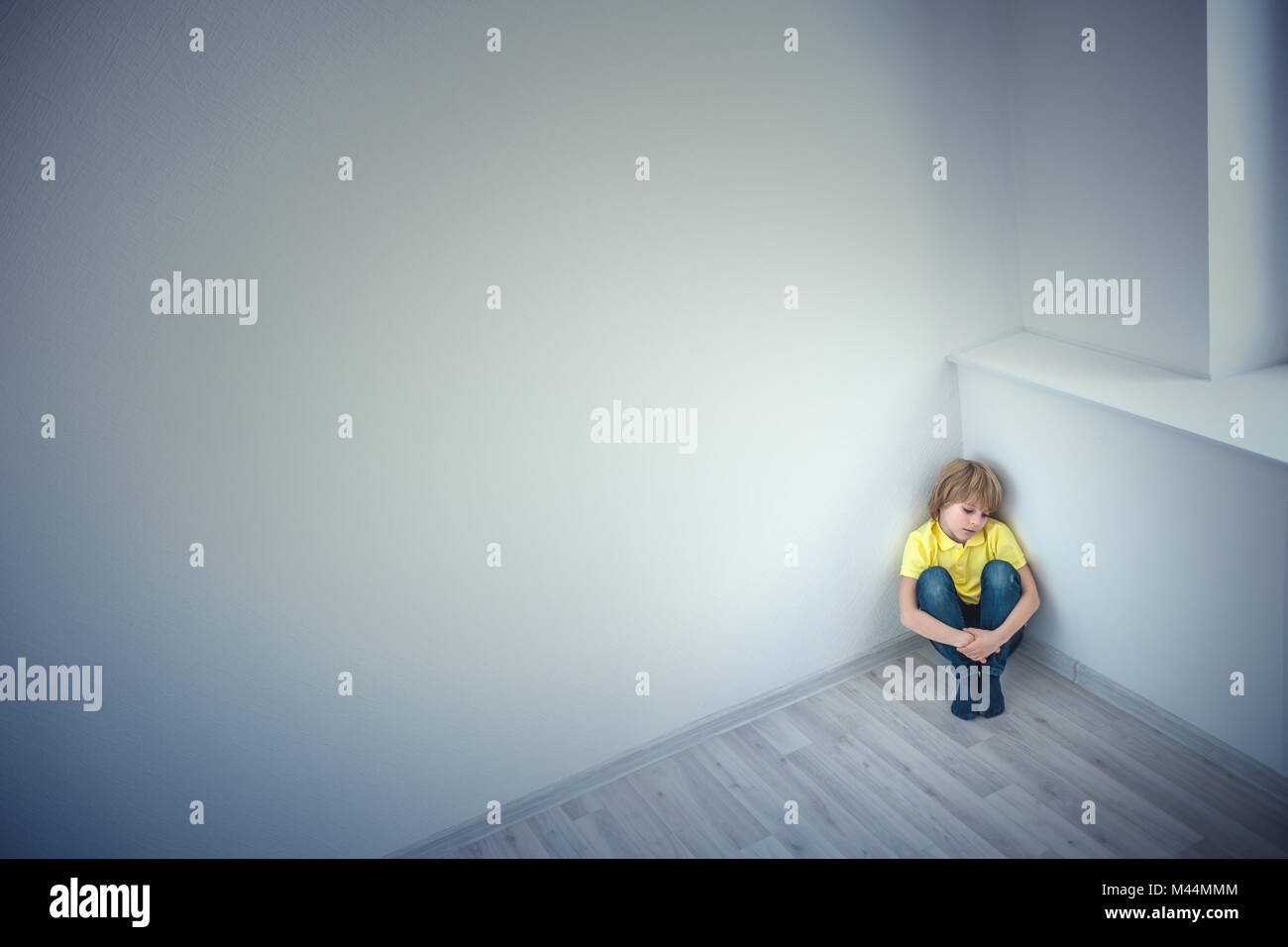 Loneliness - Stock Image