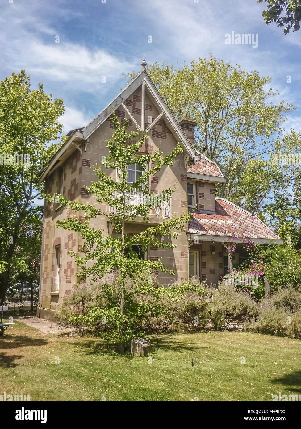 House Servants in Villa Victoria Mar del Plata - Stock Image