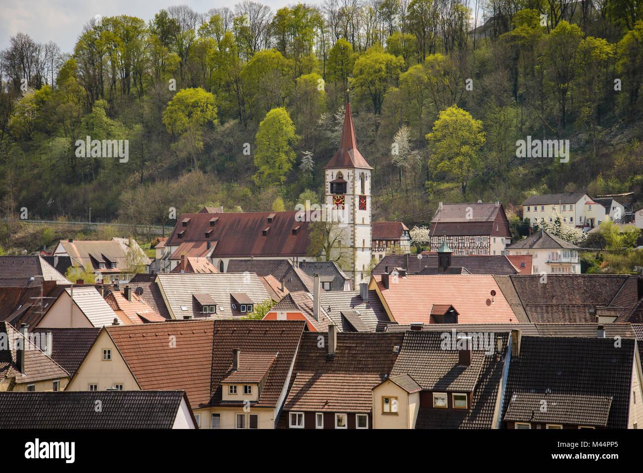 Sulz am Neckar, Baden-Württemberg, Deutschland - Stock Image