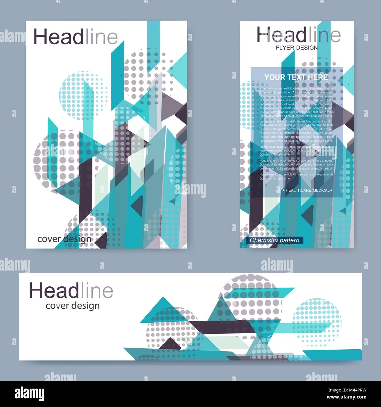 Set flyer, brochure size A4 template,banner  Business