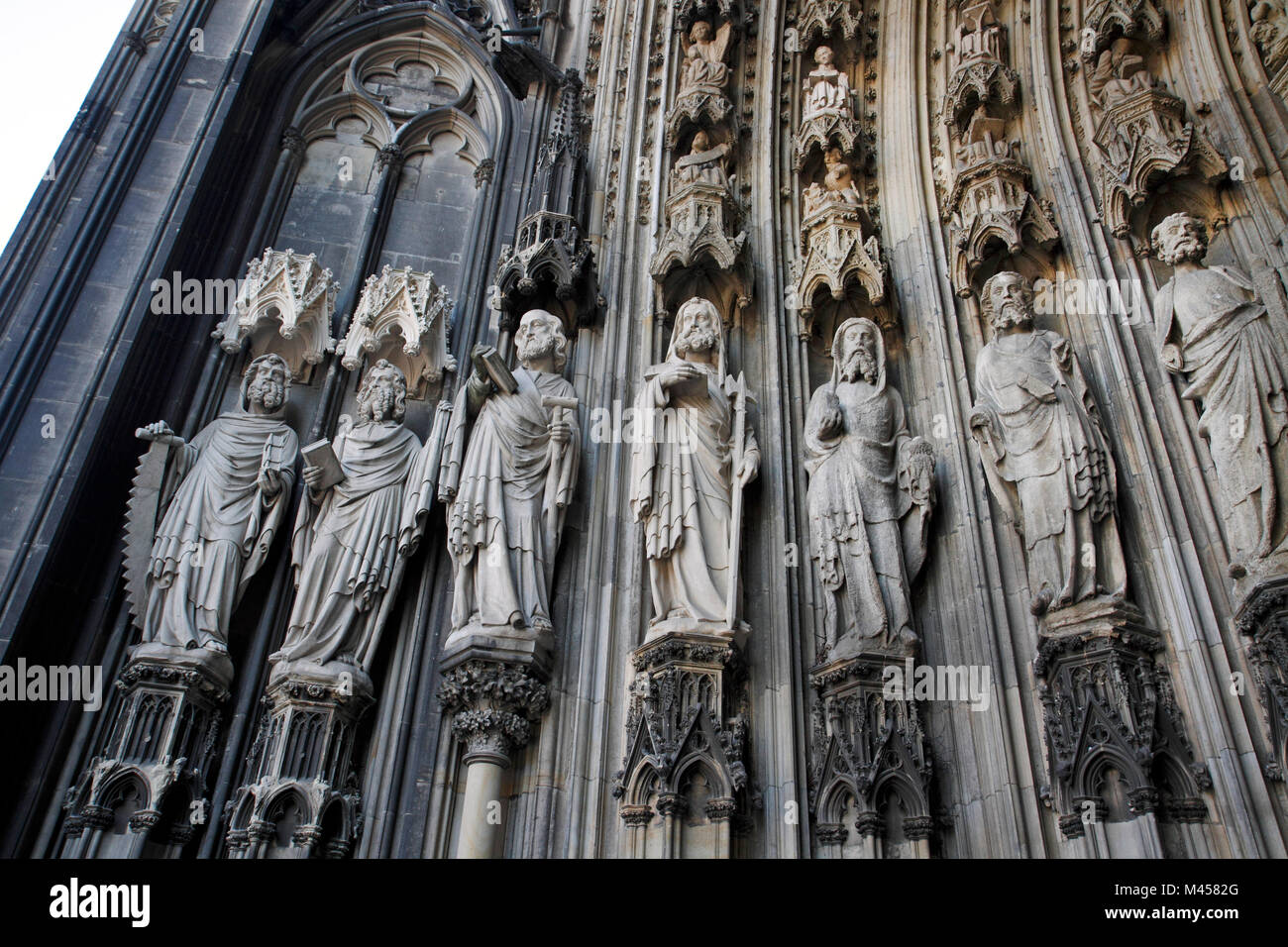 Way of St. James to Cologne - Stock Image