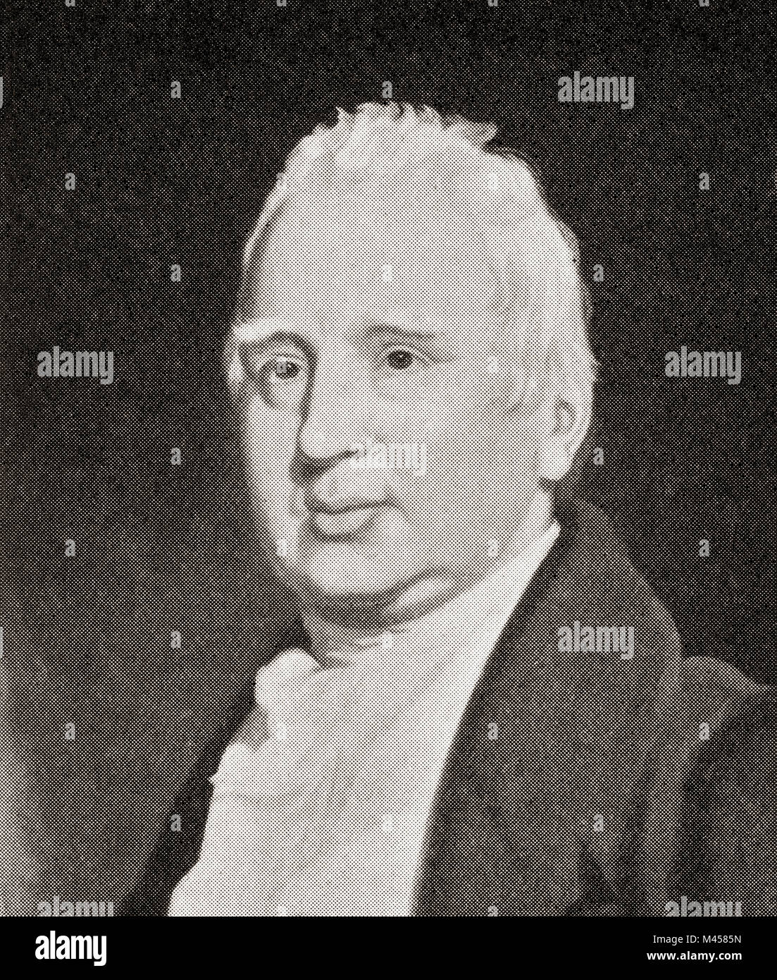William Cobbett , 1763 – 1835. English pamphleteer, farmer, journalist and member of parliament.  From The Martyrs - Stock Image