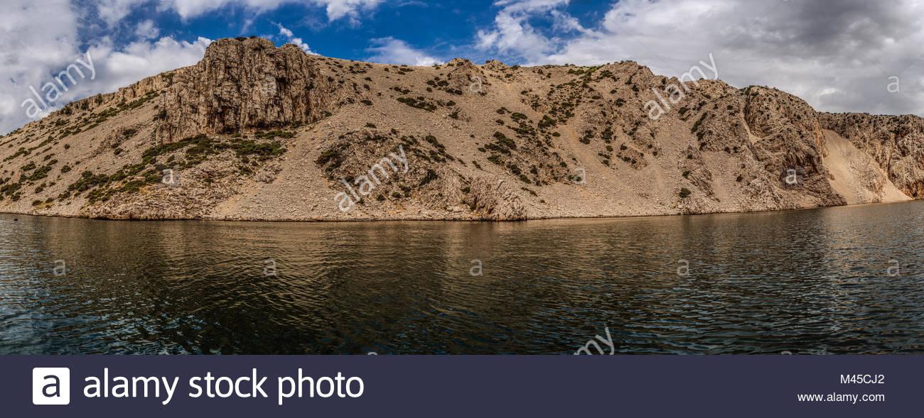 Zrmanja is a river in northern Dalmatia, Croatia Stock Photo