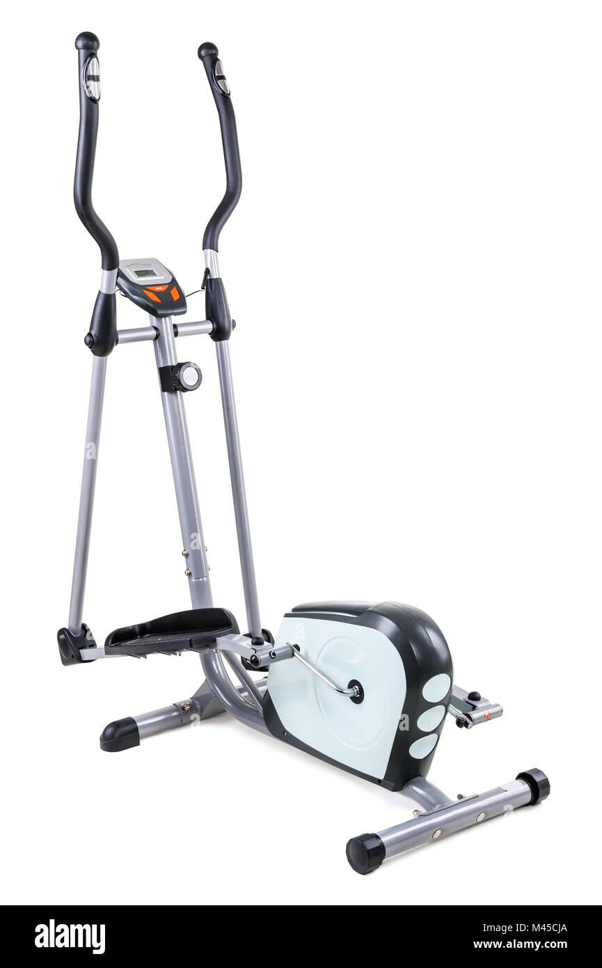 elliptical cardio trainer - Stock Image