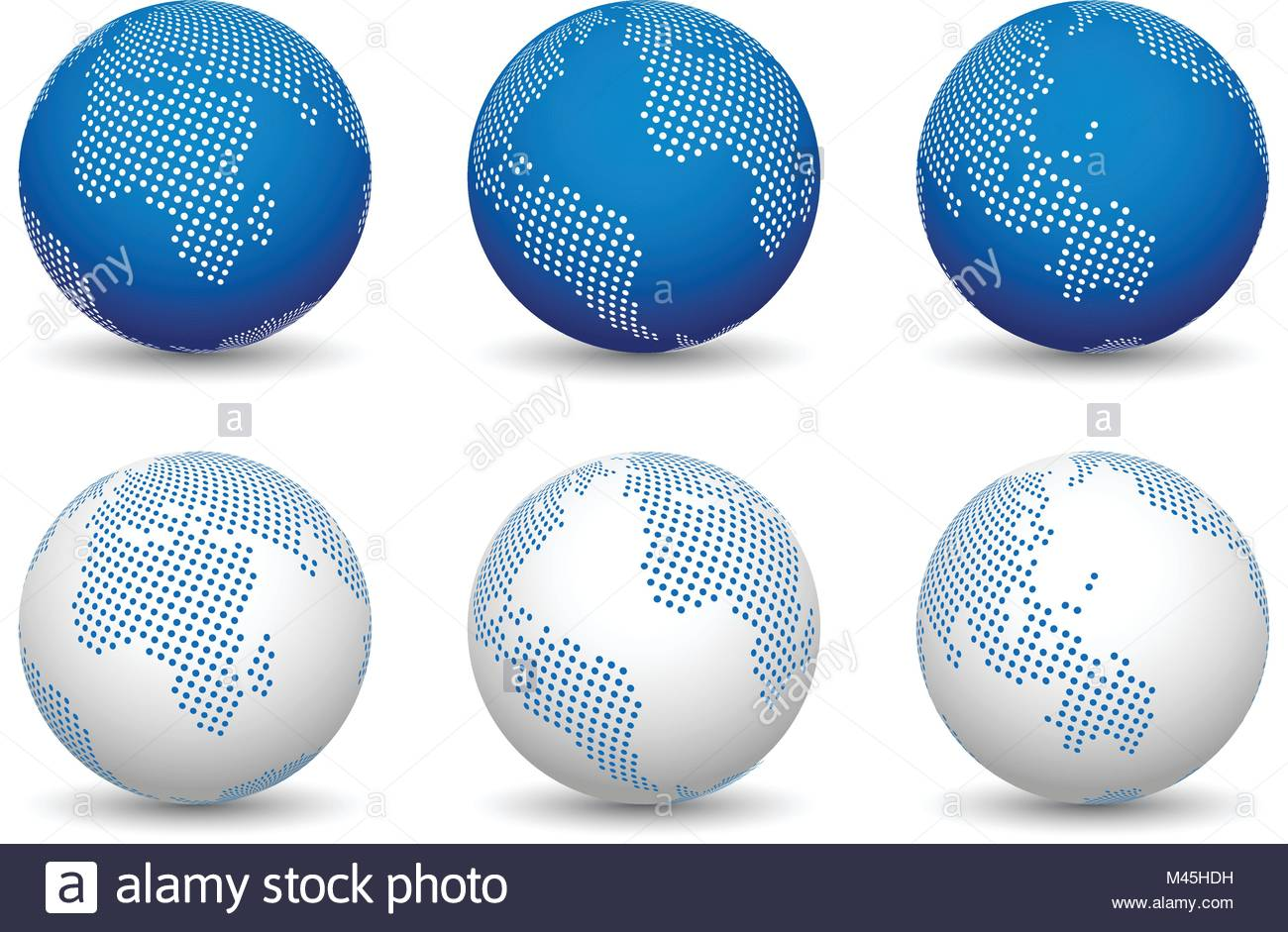 3d world maps world globe vectors stock vector art illustration 3d world maps world globe vectors gumiabroncs Gallery
