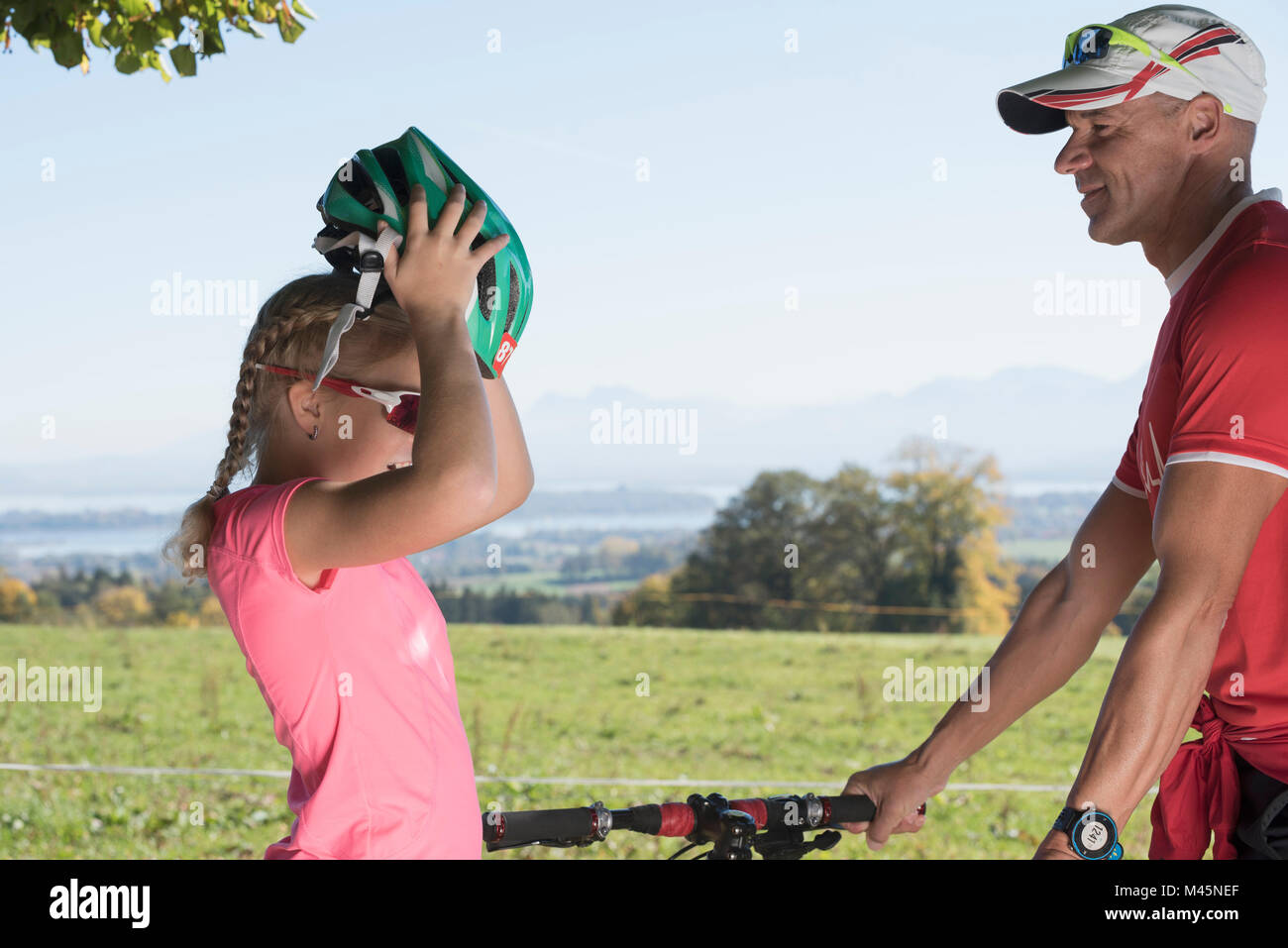 Safety Vest Bicycle Stock Photos Safety Vest Bicycle Stock Images