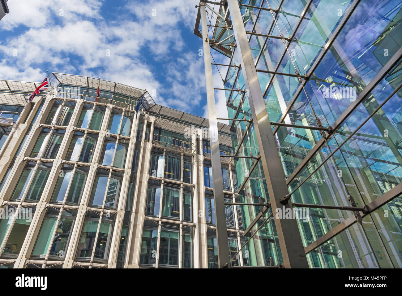 LONDON, GREAT BRITAIN - SEPTEMBER 14, 2017: The modern govenment building - Stock Image