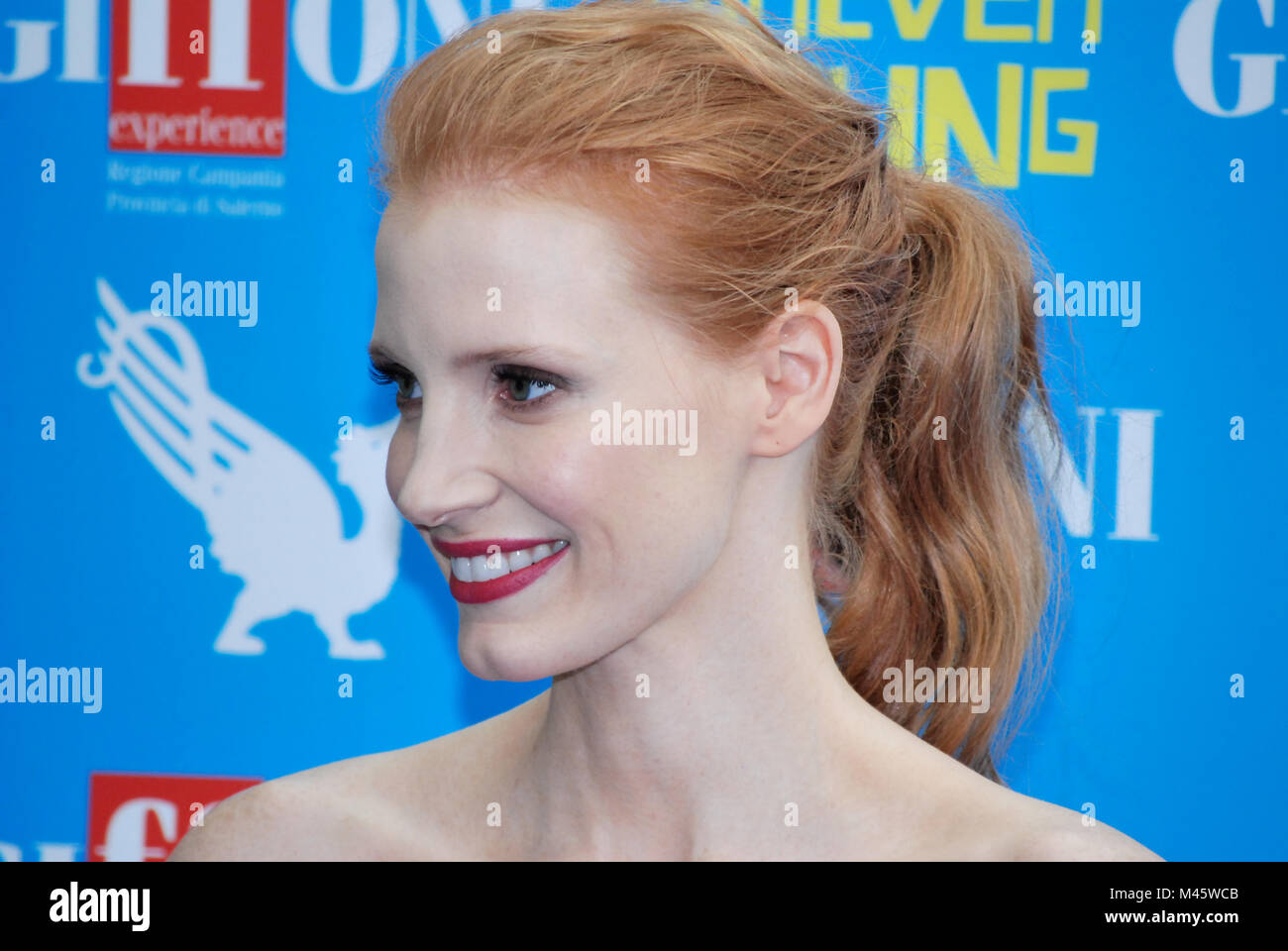 Jessica Chastain Actress High Resolution Stock Photography and ...