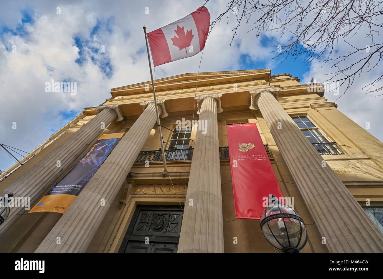 Canadian Embassy In London Stock Photos & Canadian Embassy