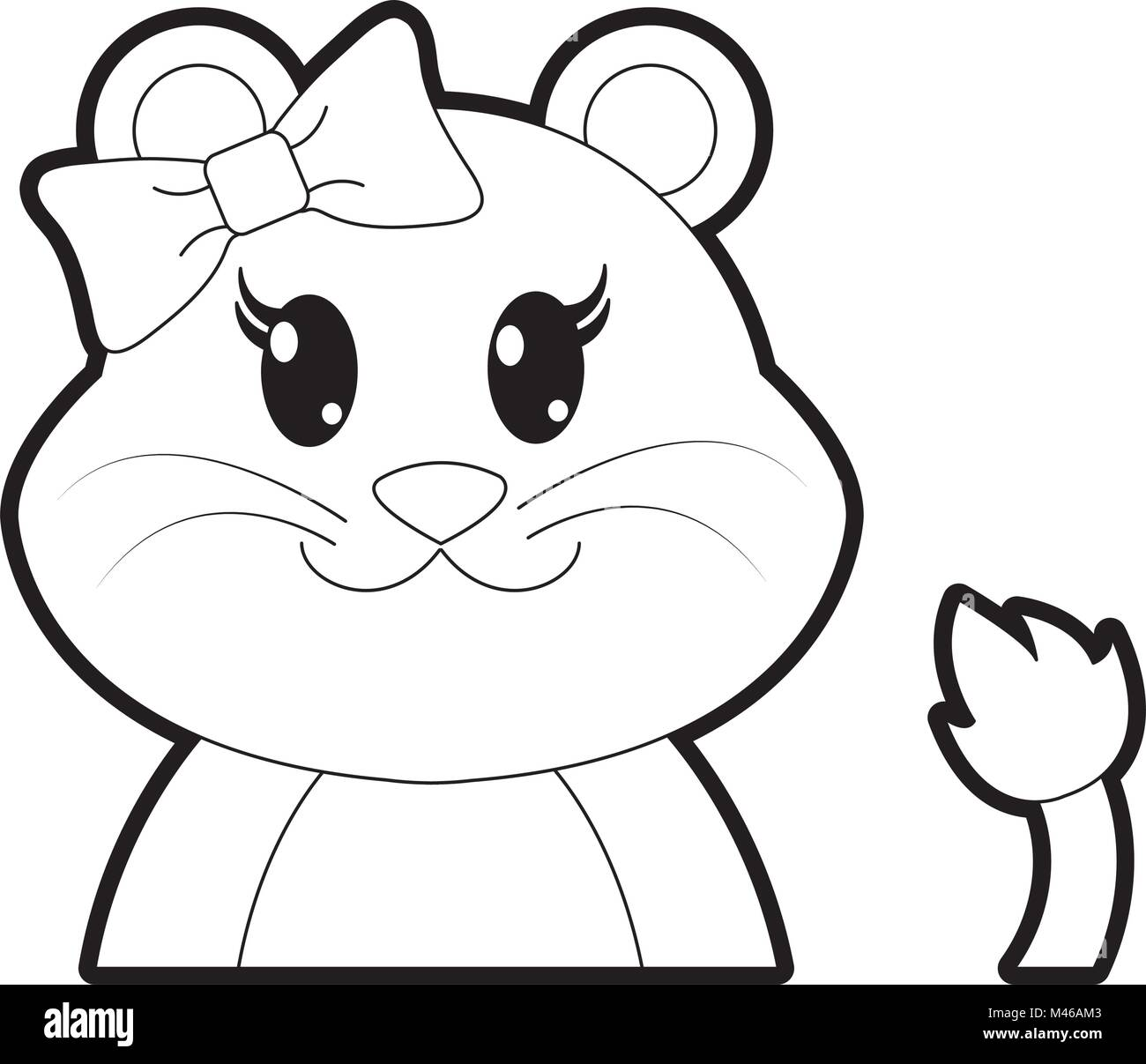 Cartoon Lion Animal Outline High Resolution Stock Photography And Images Alamy 849x941 eric's lion outline by richardmeeker. https www alamy com stock photo outline adorable female lion cute animal 174702419 html
