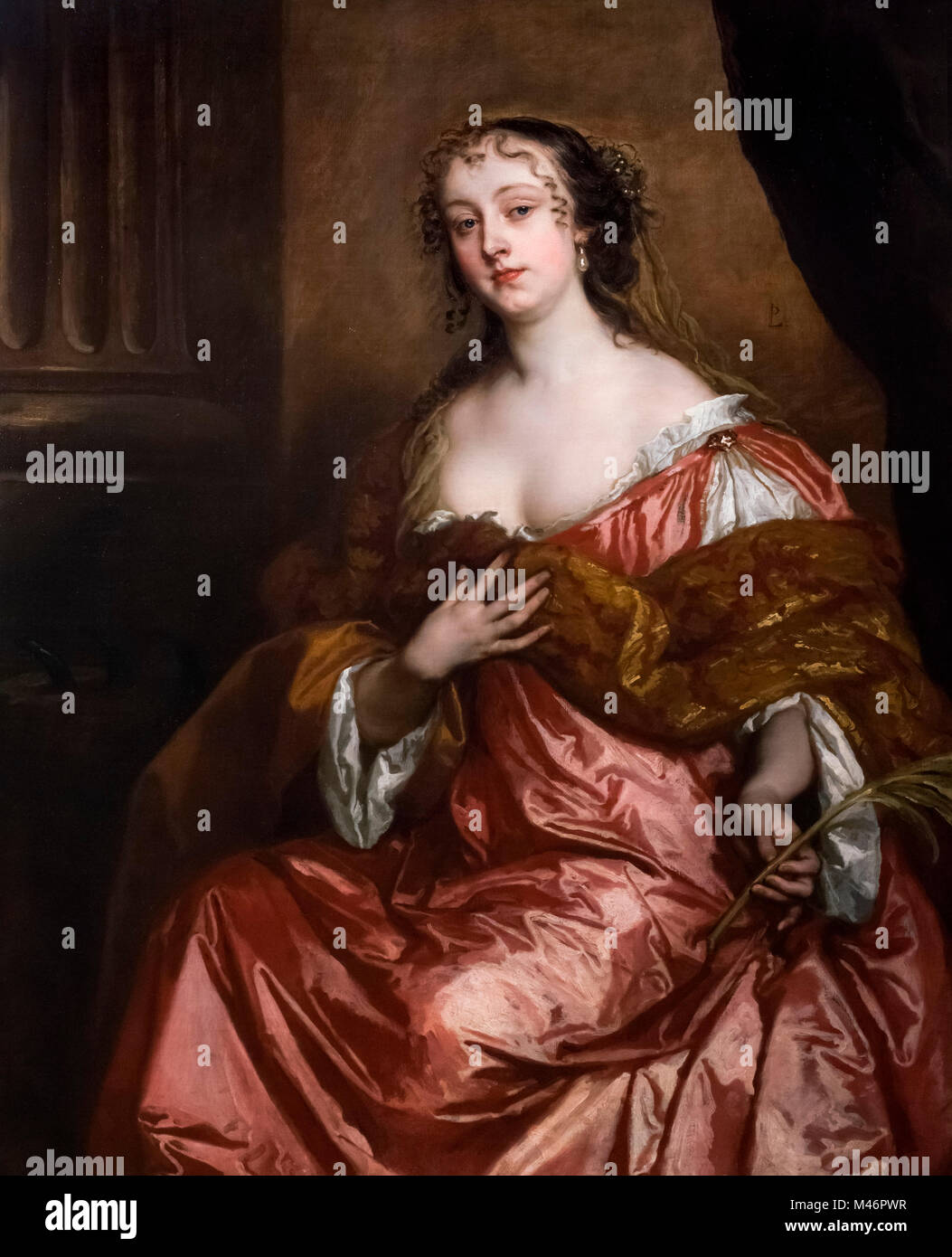 Elizabeth Hamilton, Countess of Gramont (1640-1708), a noted beauty in the Restoration period and one of the 'Windsor - Stock Image
