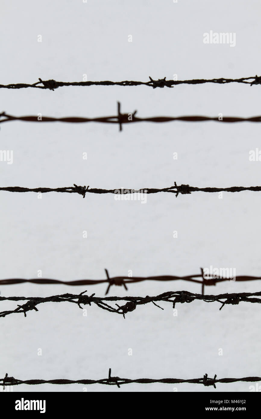 Holocaust Barbed Wire Stock Photos & Holocaust Barbed Wire Stock ...
