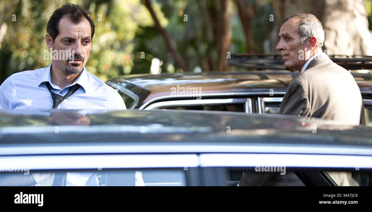 The Insult is a 2017 Lebanese drama film directed by Ziad Doueiri and co-written by Doueiri and Joelle Touma.   - Stock Image