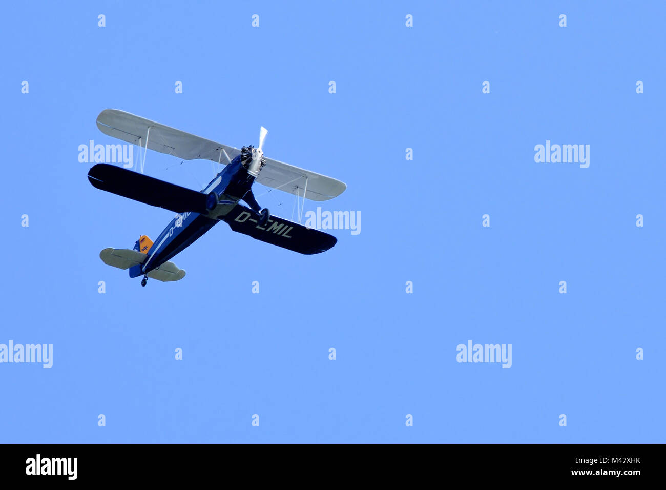 Focke-wulf fw 44 - Stock Image