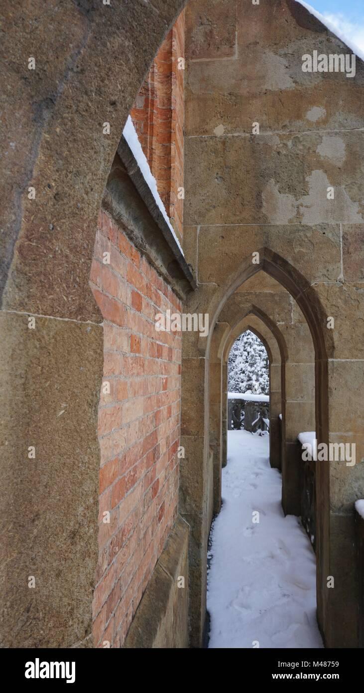 Kiefersfelden South of Bavaria Germany,  near to Austria Tyrol, church King Otto chapel Stock Photo