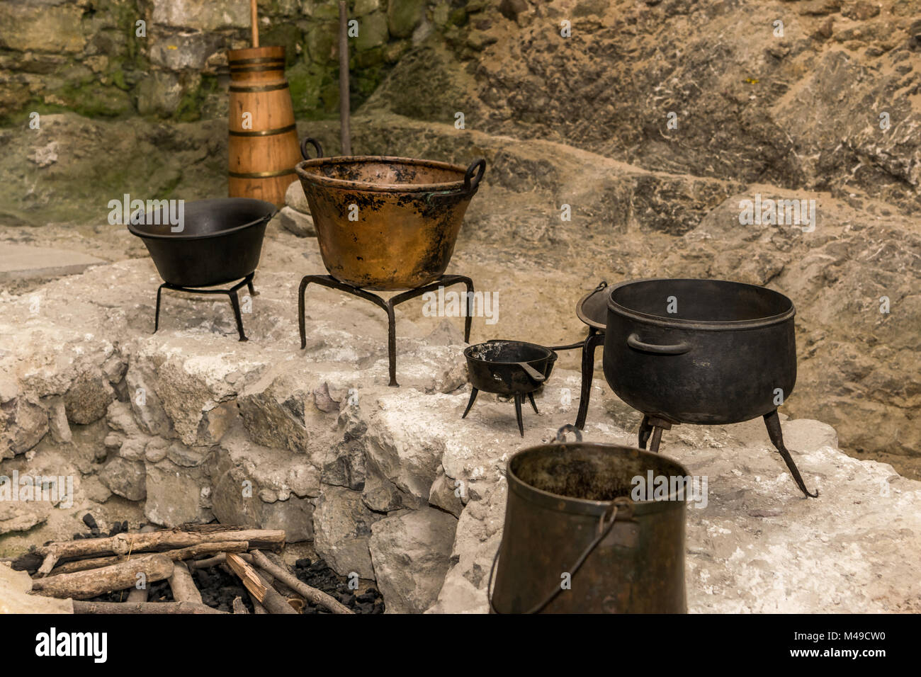 Historical Cooking Fireplace Stock Photos Amp Historical