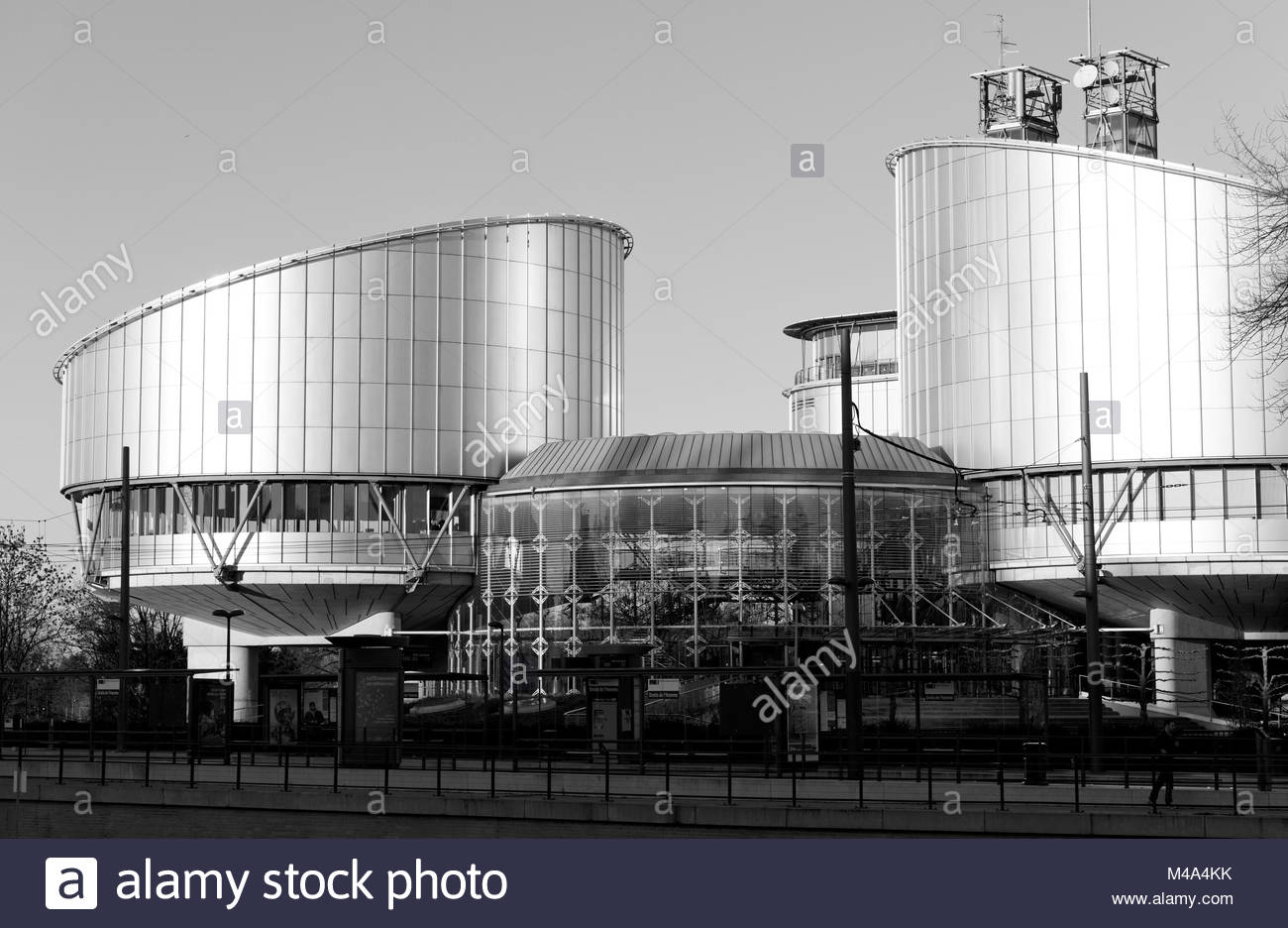 European Court of Human Rights Justice Strasbourg - Stock Image