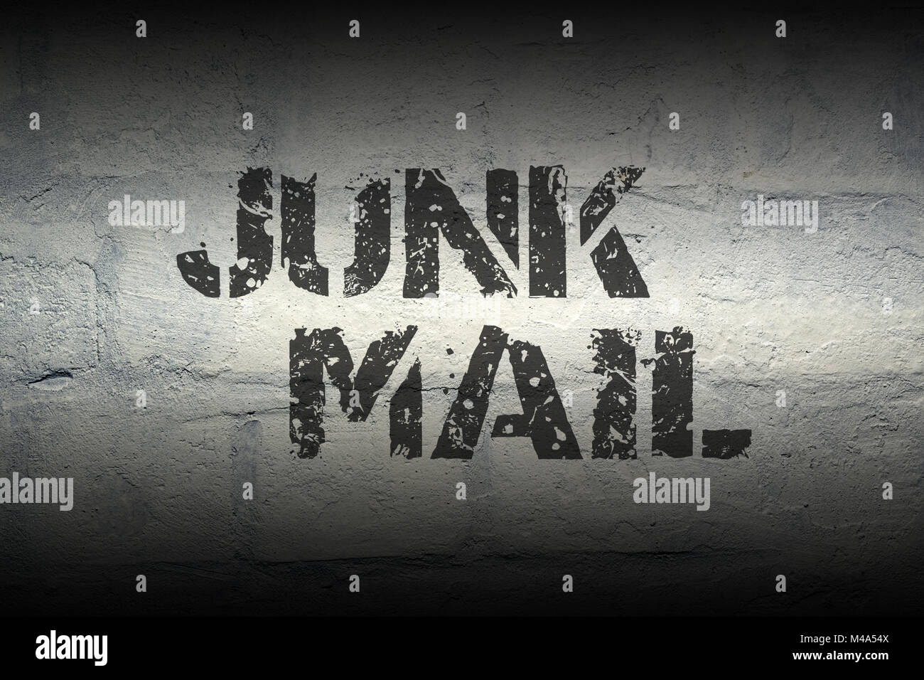 junk mail GR - Stock Image