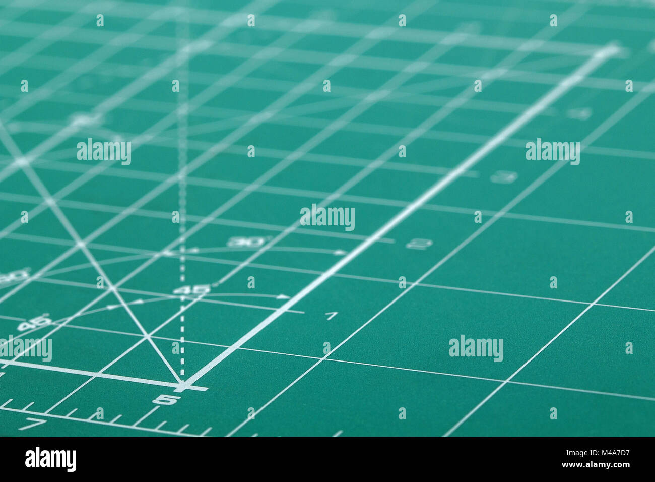 Marker board to perform design work, close-up - Stock Image
